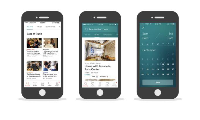 Airbnb iPhone App Design