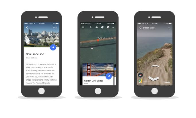 Google Earth Great App Design