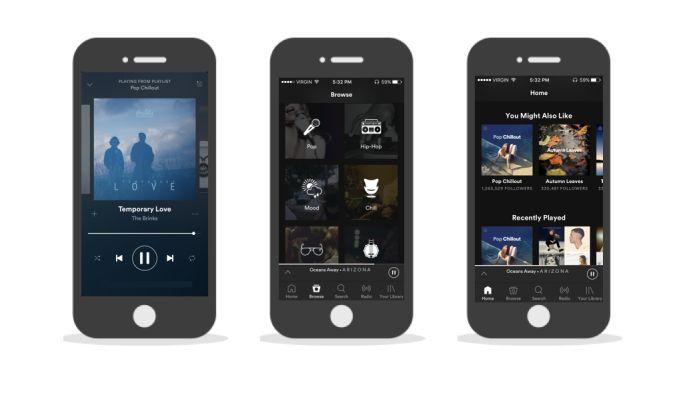 Spotify Amazing App Design