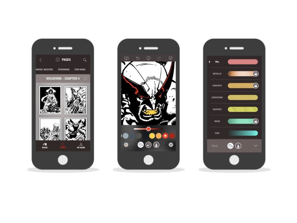 Marvel: Color Your Own Elegant App Design
