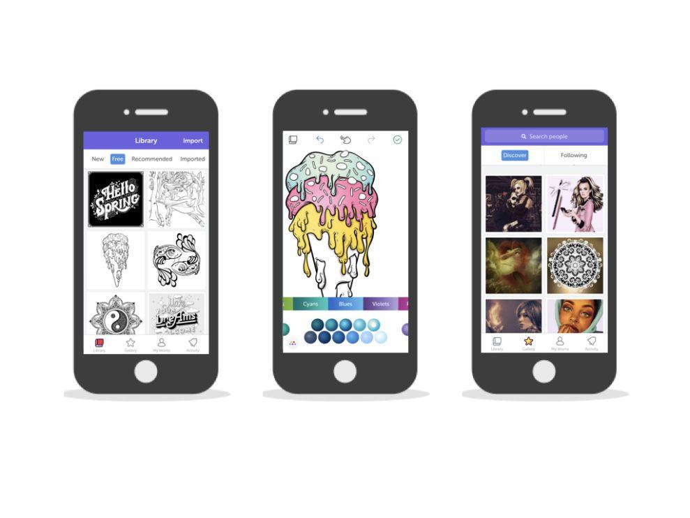 Recolor User-Friendly App Design