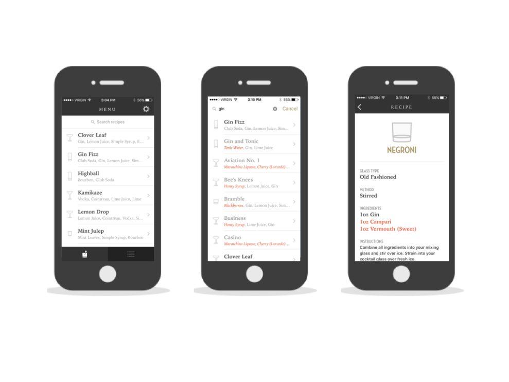 Old Sport Minimal App Design