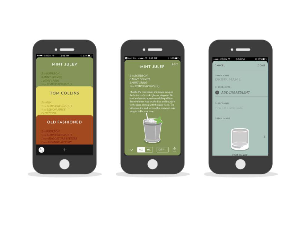 Highball Trendy App Design