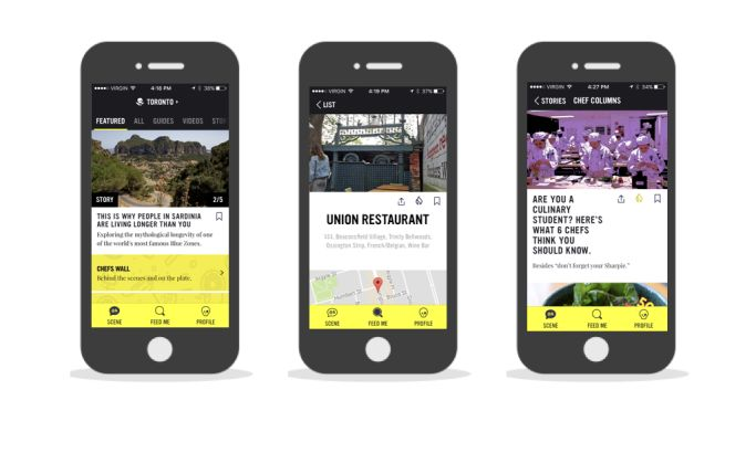 Chefsfeed Trendy App Design