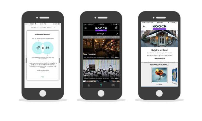 Hooch Sophisticated App Design
