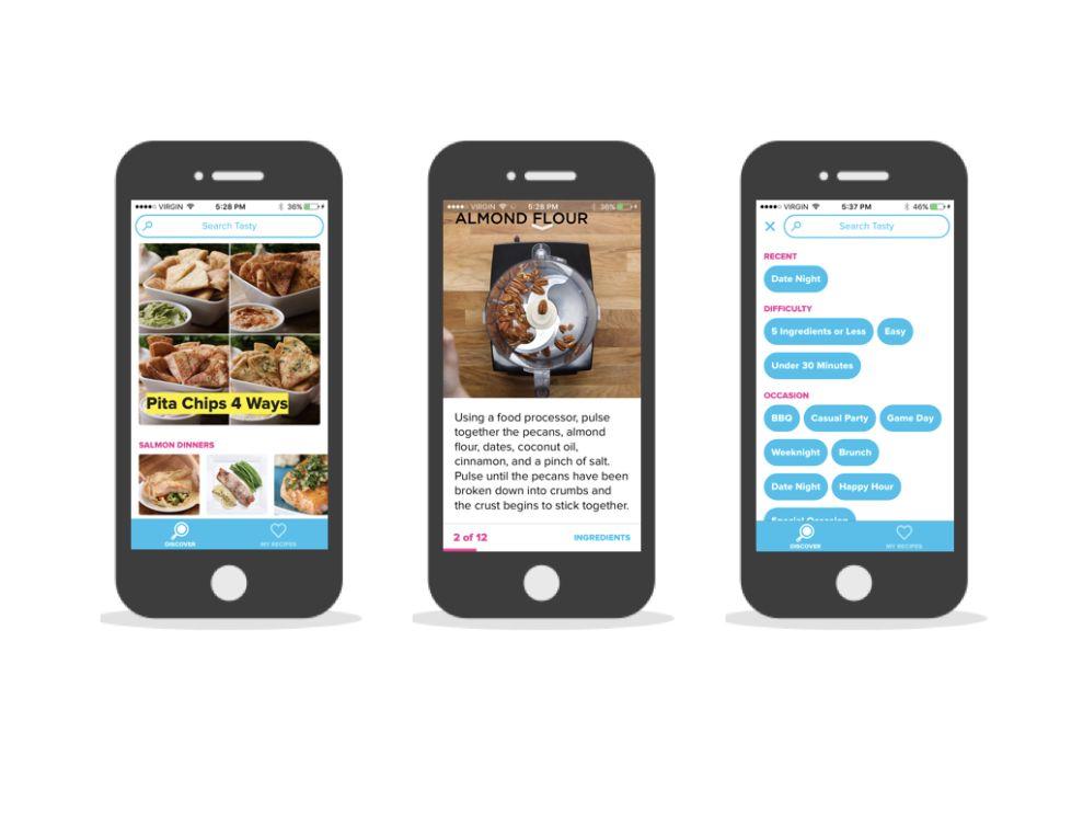 Tasty Playful App Design