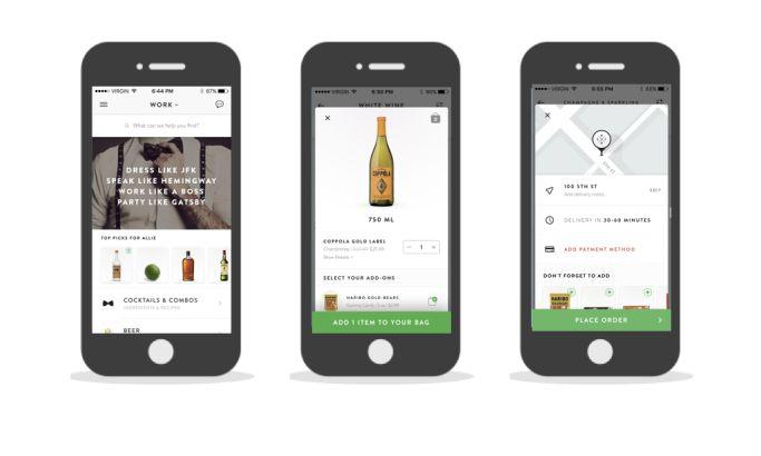 Saucey Modern App Design
