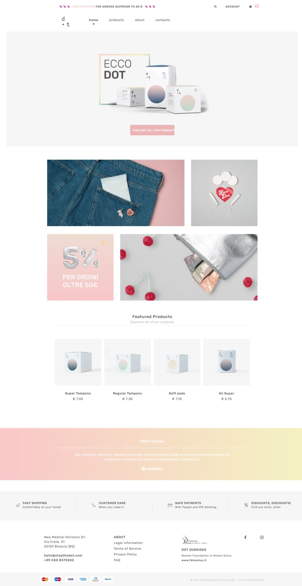 Stop the Dot Gorgeous Product Page