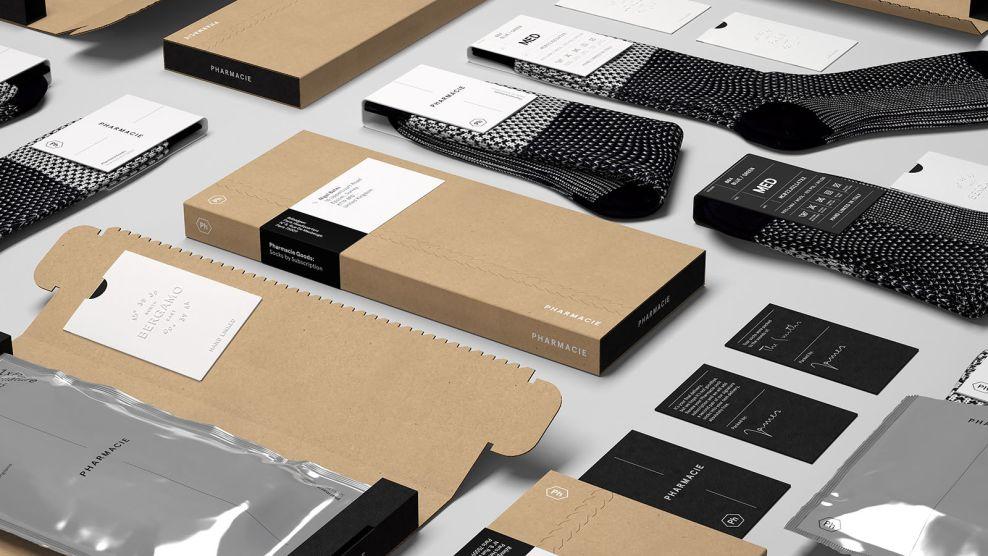 Pharmacie Goods Simple Package Design