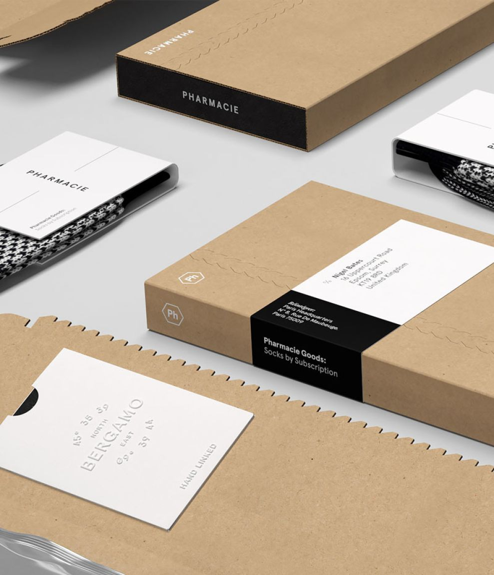 Pharmacie Goods Clean Package Design
