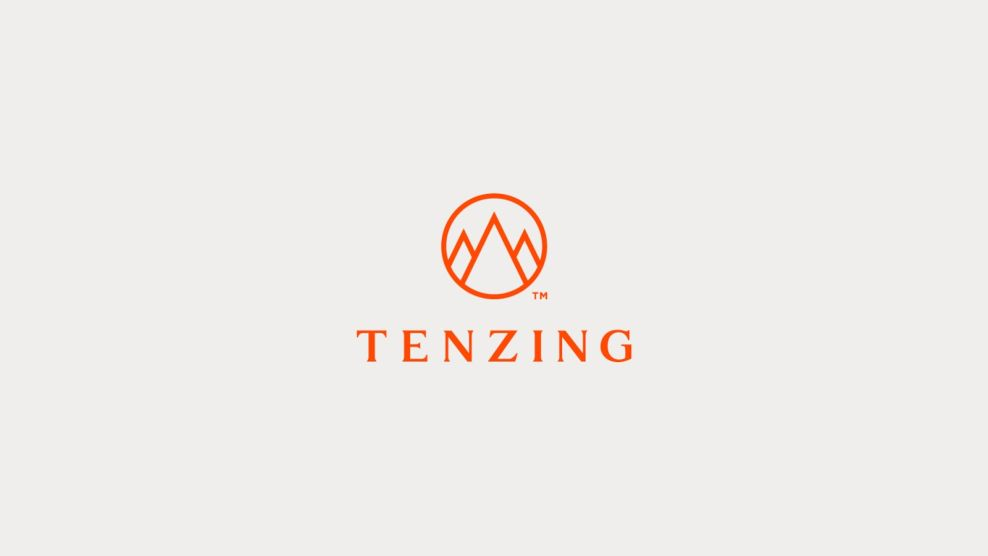 Tenzing Skincare Clean Logo Design