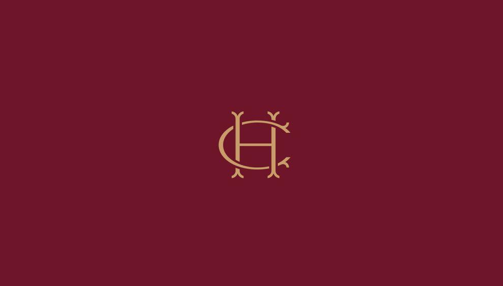 The Handmade Christmas Company Elegant Logo Design