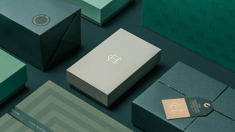 The Handmade Christmas Company Package Design