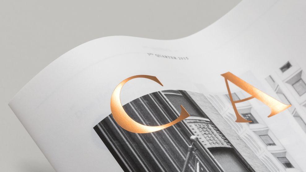 Capital Magazine Clean Print Design