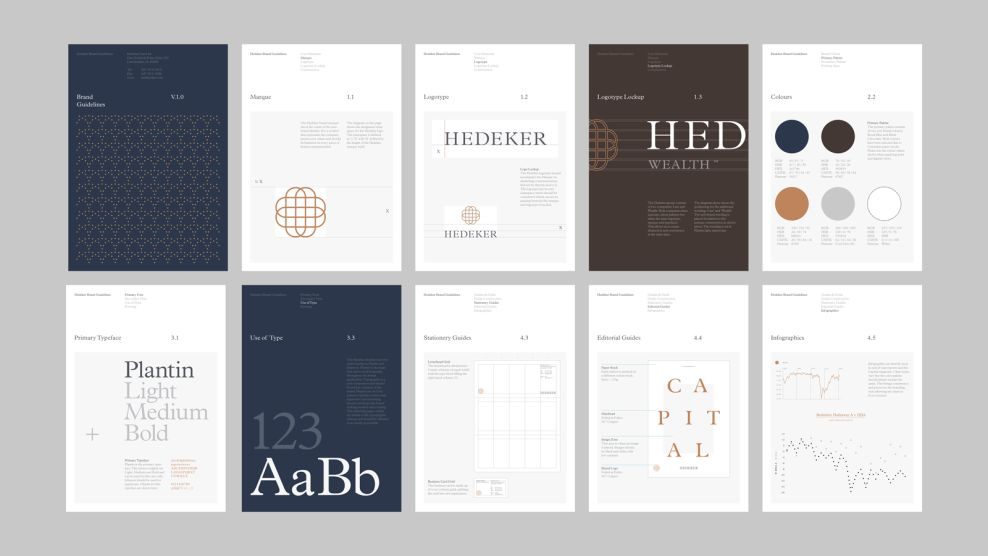 Hedeker Clean Print Design