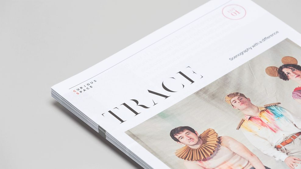 Trace Magazine Clean Print Design
