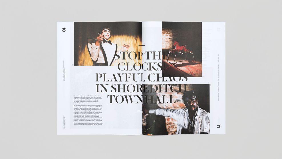 Trace Magazine Print Design