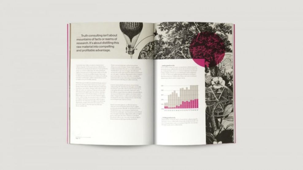 Truth Consulting Stunning Print Design