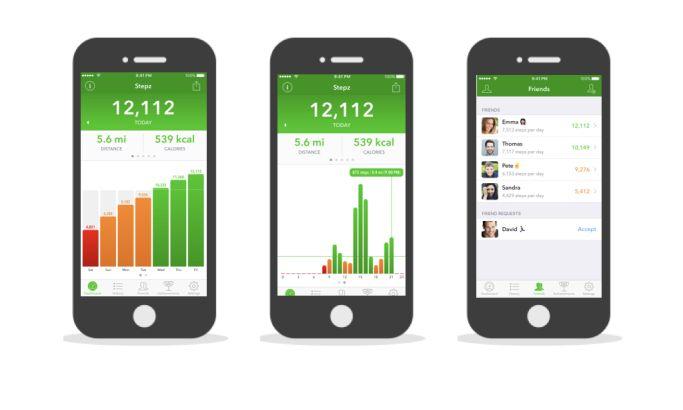 Stepz Bold App Design