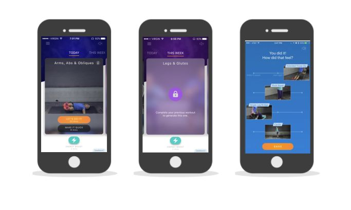Stryve Stunning App Design