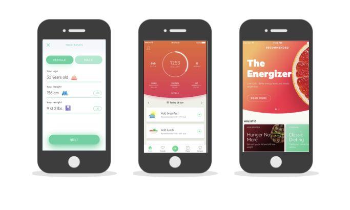 Lifesum Gorgeous App Design