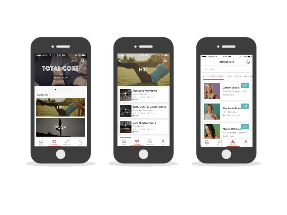Movewith Elegant App Design