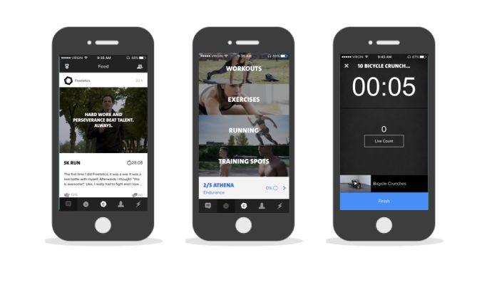 Freeletics Elegant App Design