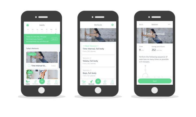 8fit Workouts Amazing App Design
