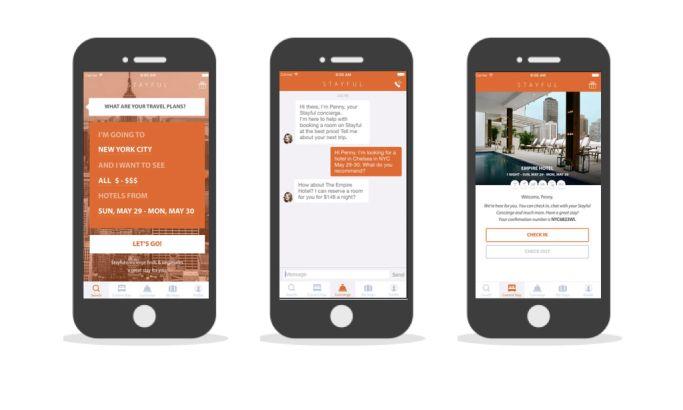 Stayful Stunning App Design