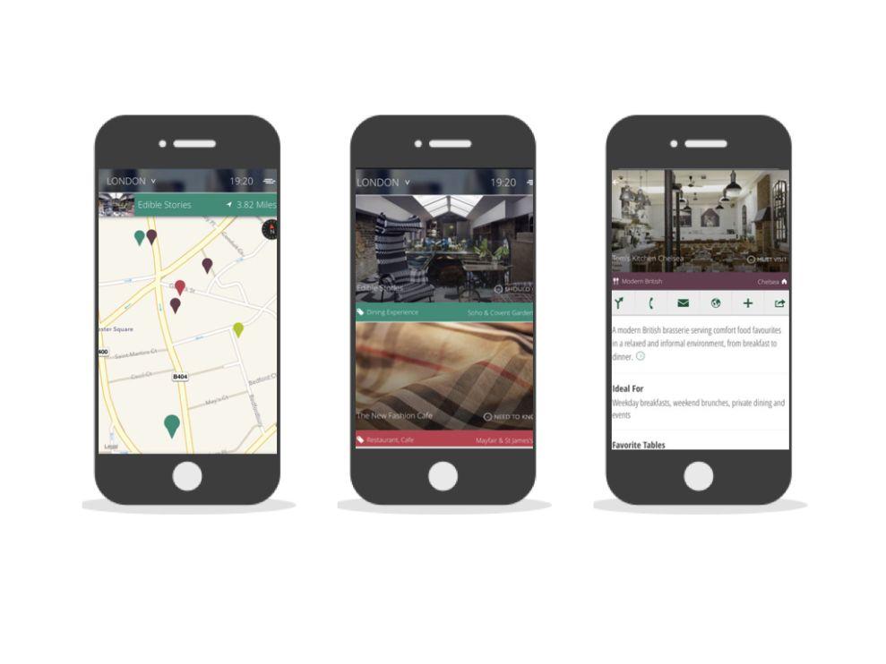 Urbanologie Clean App Design