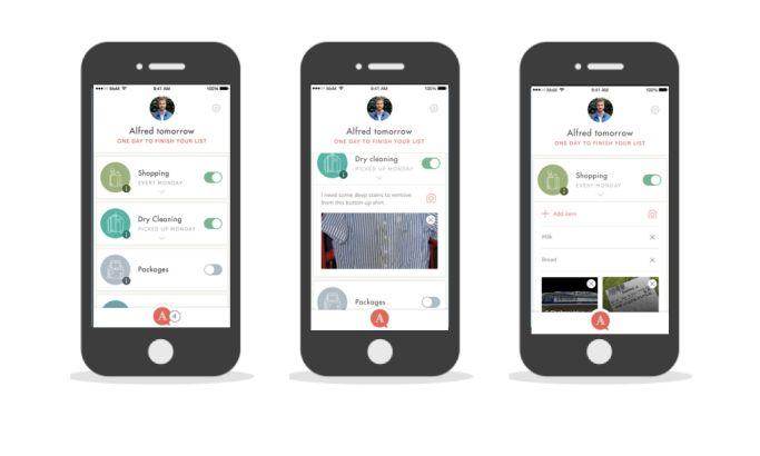 Hello Alfred Contemporary App Design