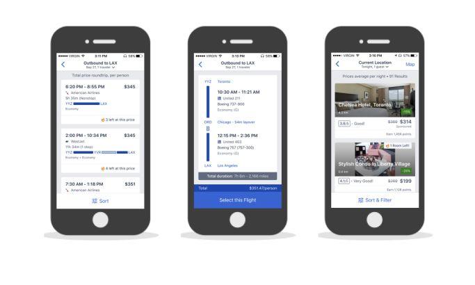 Expedia Clean App Design