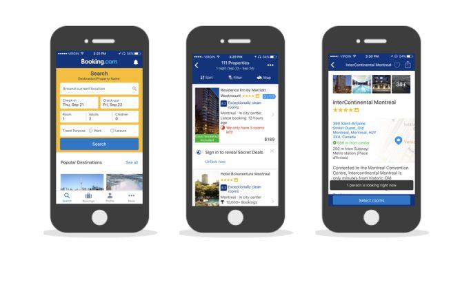 Booking.com User-Friendly App Design