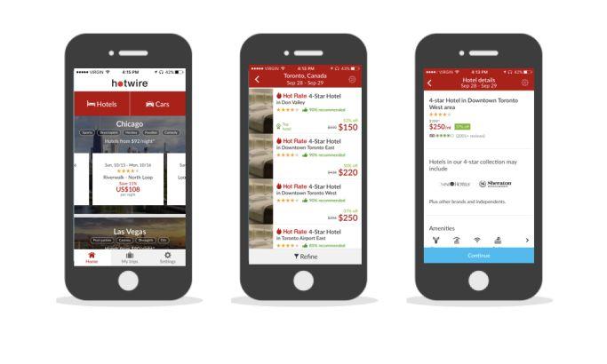 Hotwire Clean App Design