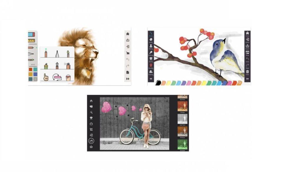 Drawing Desk Beautiful App Design