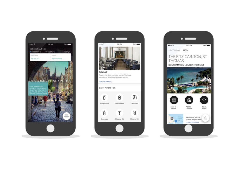 Ritz-Carlton Corporate App Design