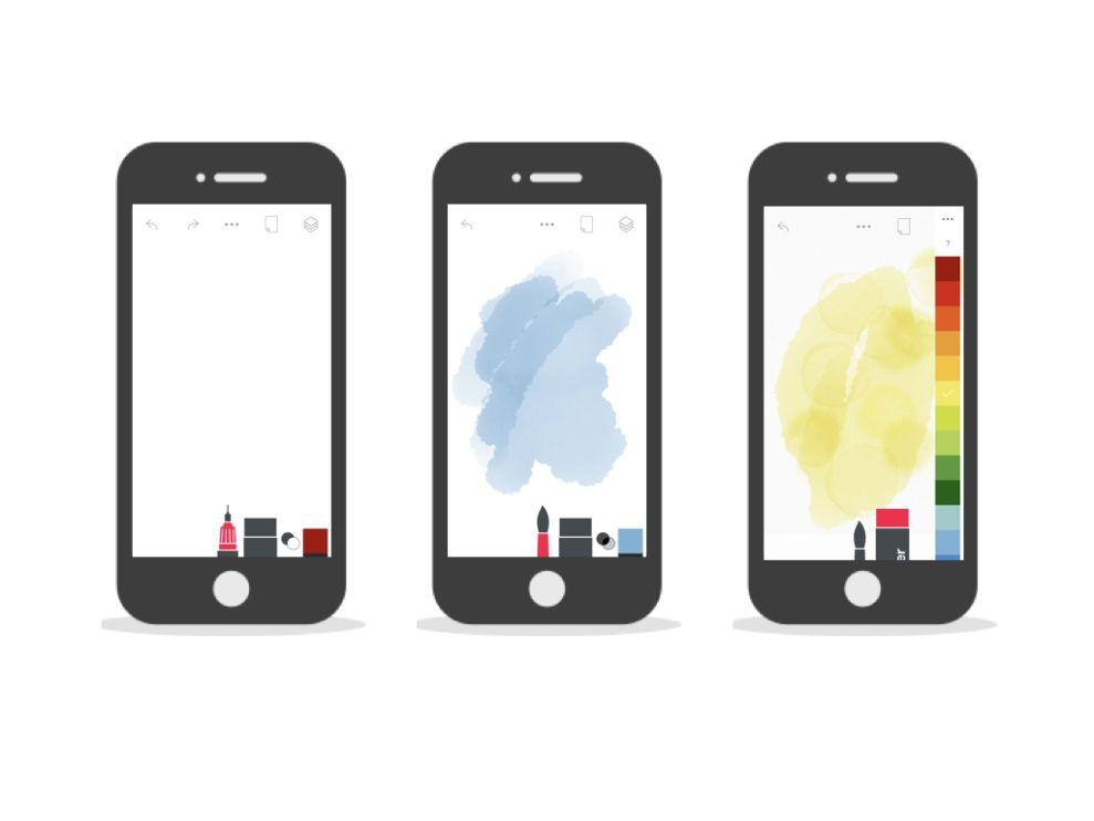 Tayasui Sketches Minimal App Design