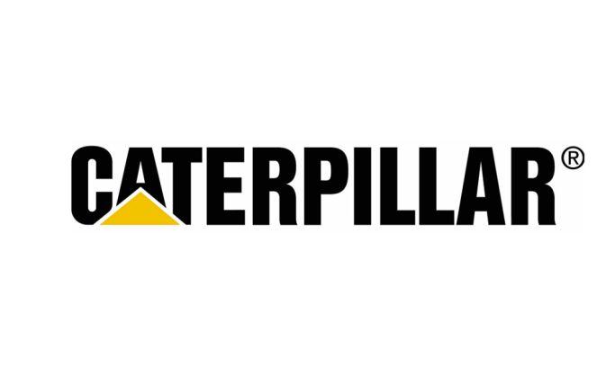 Caterpillar Typographic Logo Design