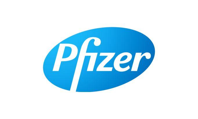 Pfizer Typography Logo Design