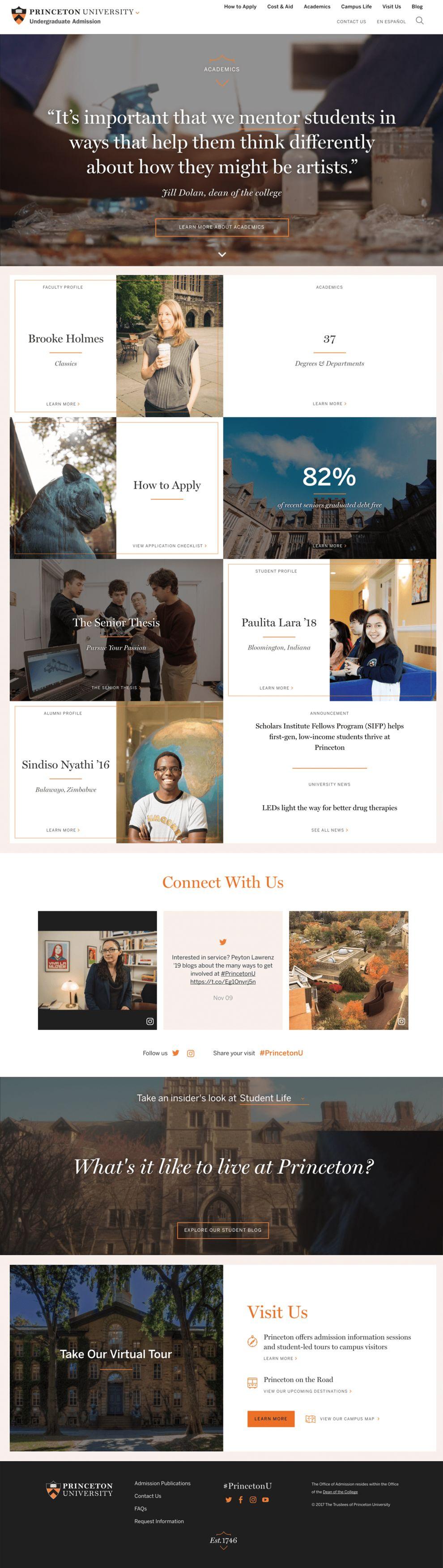 Princeton University Professional Homepage