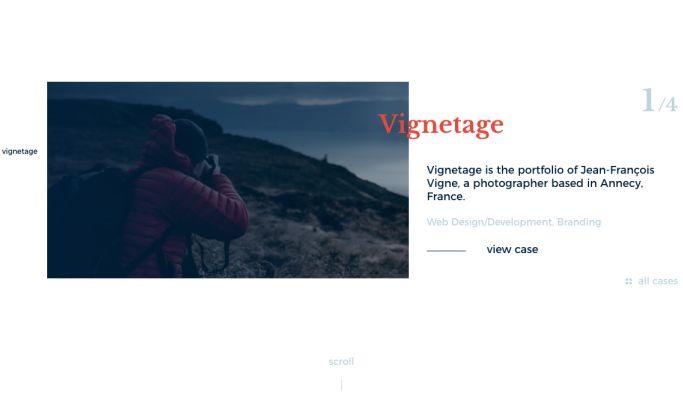 Aurelien Vigne Elegant Website Design