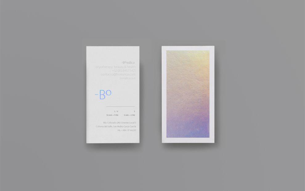 Borealica Minimal Package Design