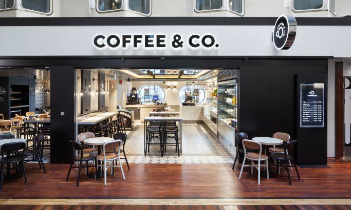 Coffee & Co. Clean Logo Design