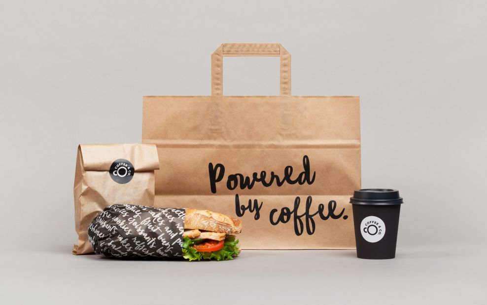 Coffee & Co. Package Design