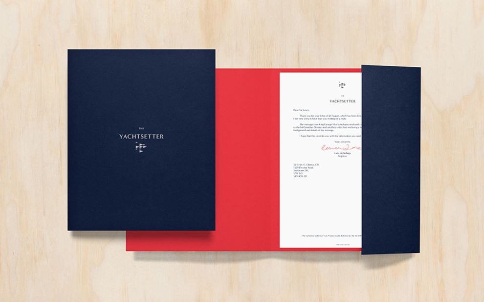Yachtsetter Clean Package Design