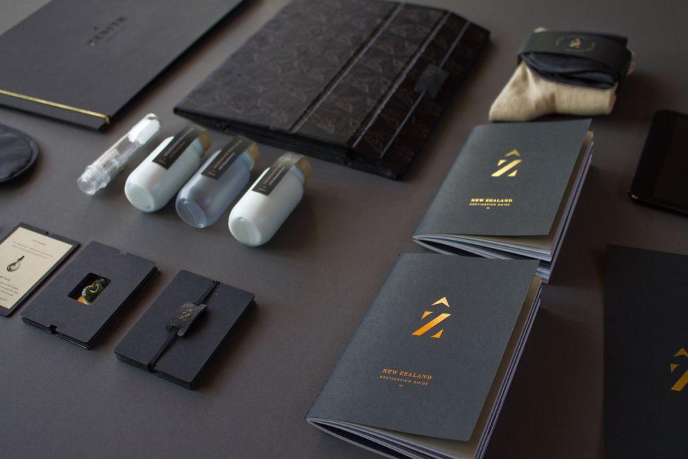 Zenith Premium Travel Kits Package Design