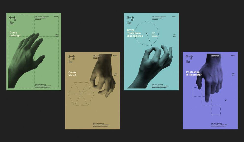 Mr. Marcel School Contemporary Print Design