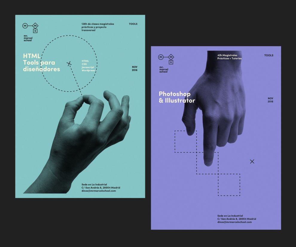 Mr. Marcel School Trendy Print Design