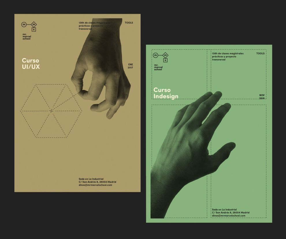 Mr. Marcel School Print Design