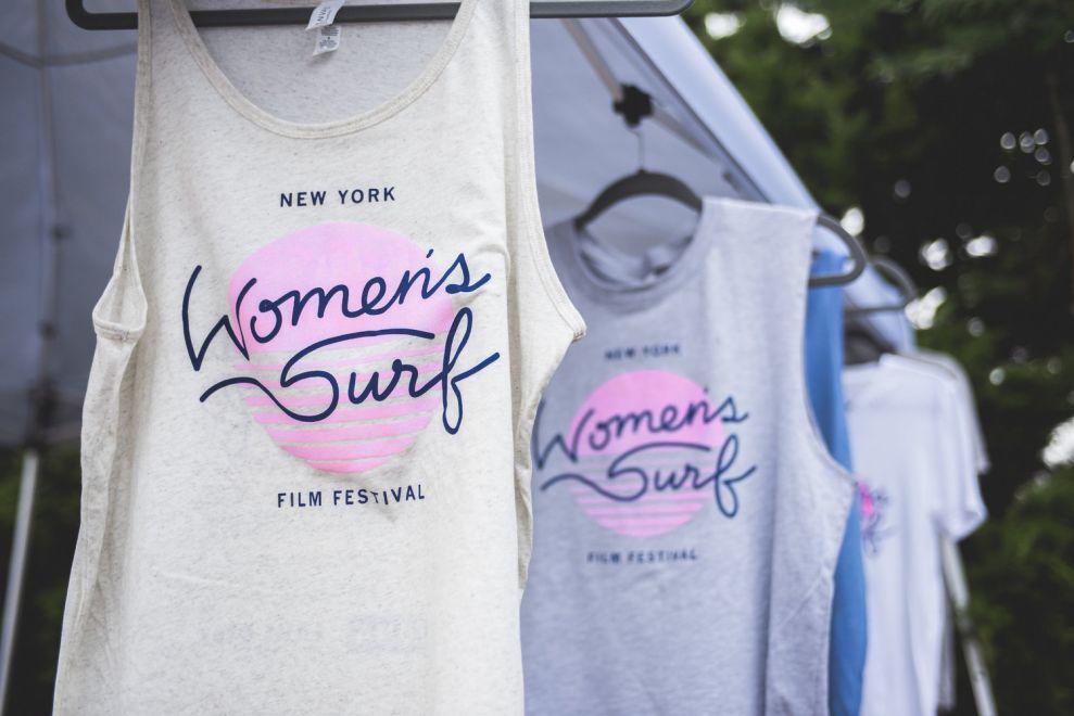 NYC Womens Surf Film Festival Great Print Design